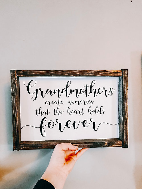 Grandmothers create memories