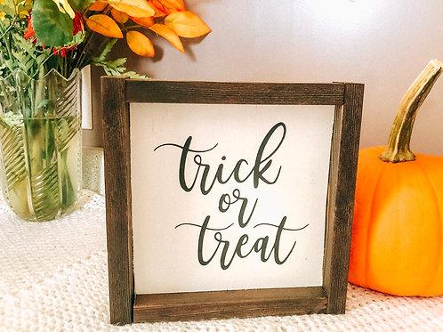 trick or treat mini