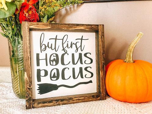 but first, HOCUS POCUS
