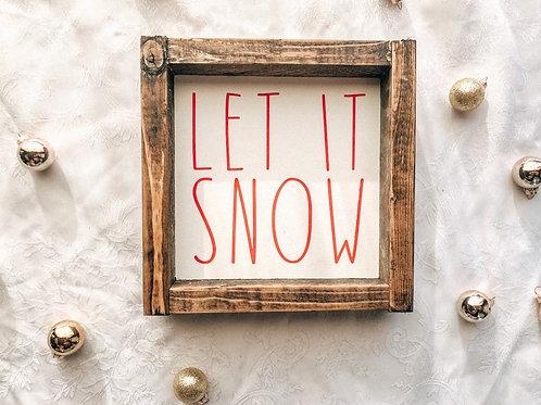 Mini Let It Snow