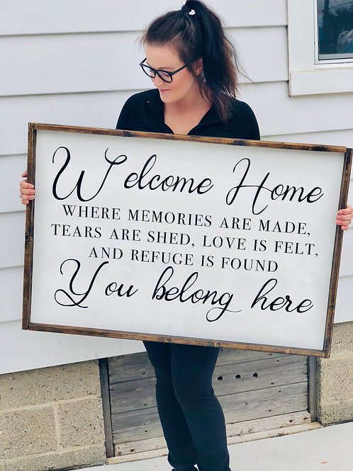 Welcome Home - You belong here