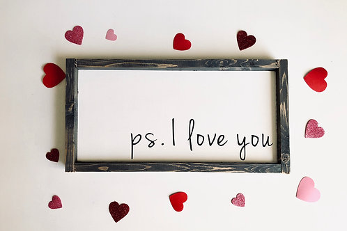 ps. I love you