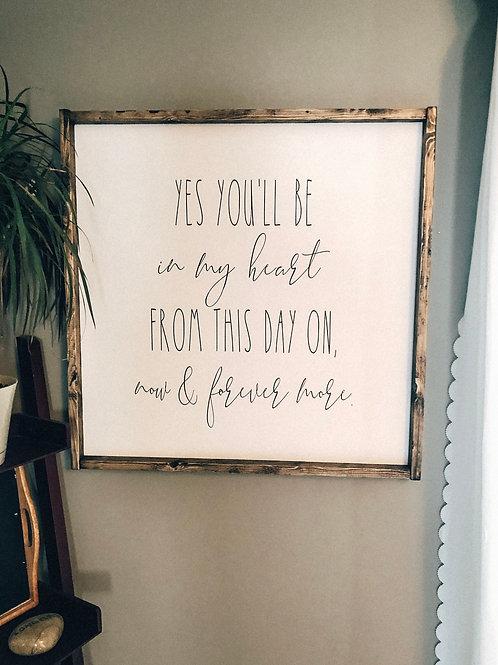 Tarzan Lyrics - Yes you'll be in my heart
