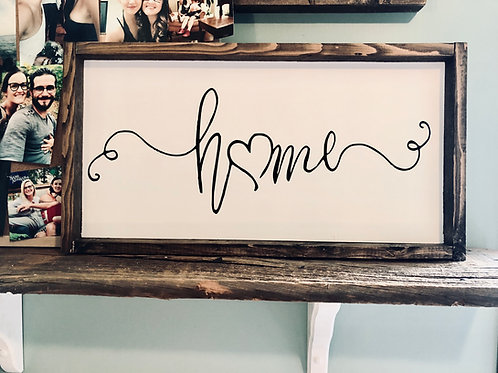 home w/ heart