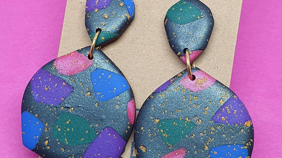 Sprinkled Jewel Dangles