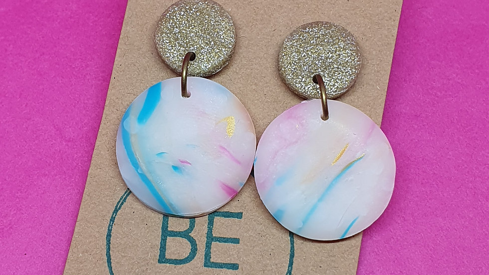 Be Sweet: The Remix Small Round Dangles