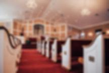 Auditorium in Berean Baptist Church in Cumming, GA