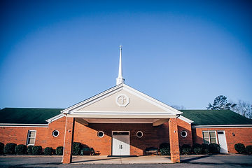 Church building of Berean Baptist Church in Cumming, GA