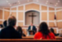 Adult Sunday School class at Berean Baptist Church in Cumming, GA