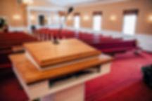 Preaching at Berean Baptist Church in Cumming, GA