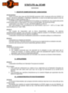 Statuts page 1
