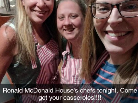 Giving back to Ronald McDonald House Charities