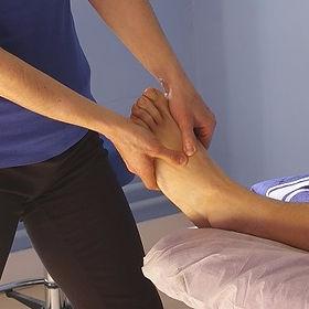 Réflexologie plantaire massage des pieds