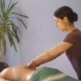 Massage bien-être dynamisant