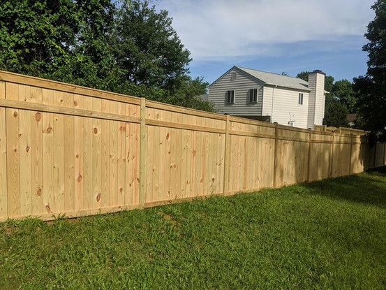 Wood Fence Crofton