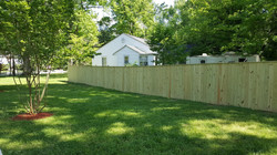 Pressure Treated Wood Privacy Solid Boar