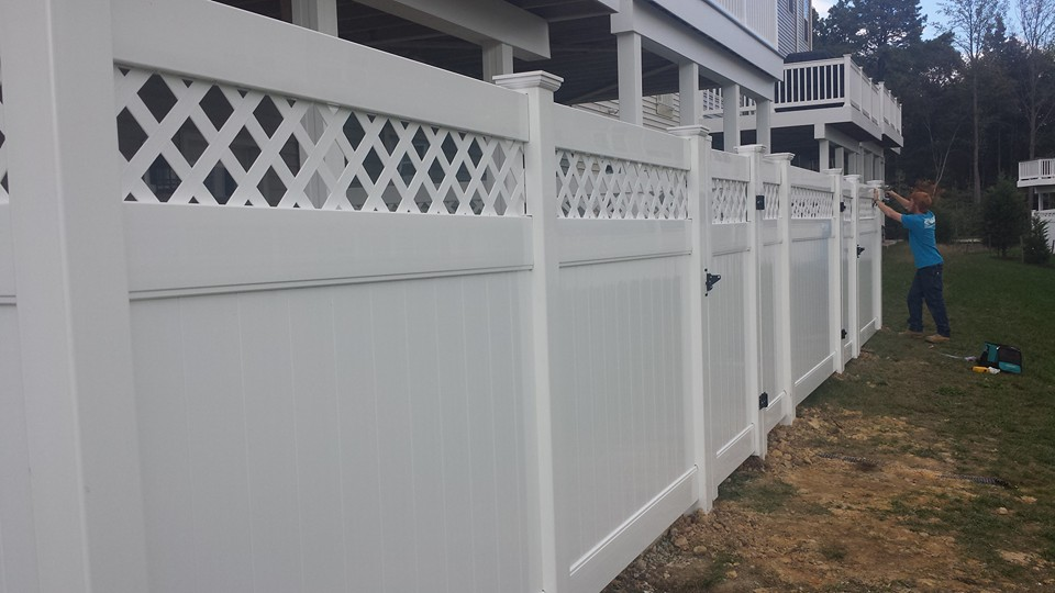 Decorative Vinyl Privacy Fence