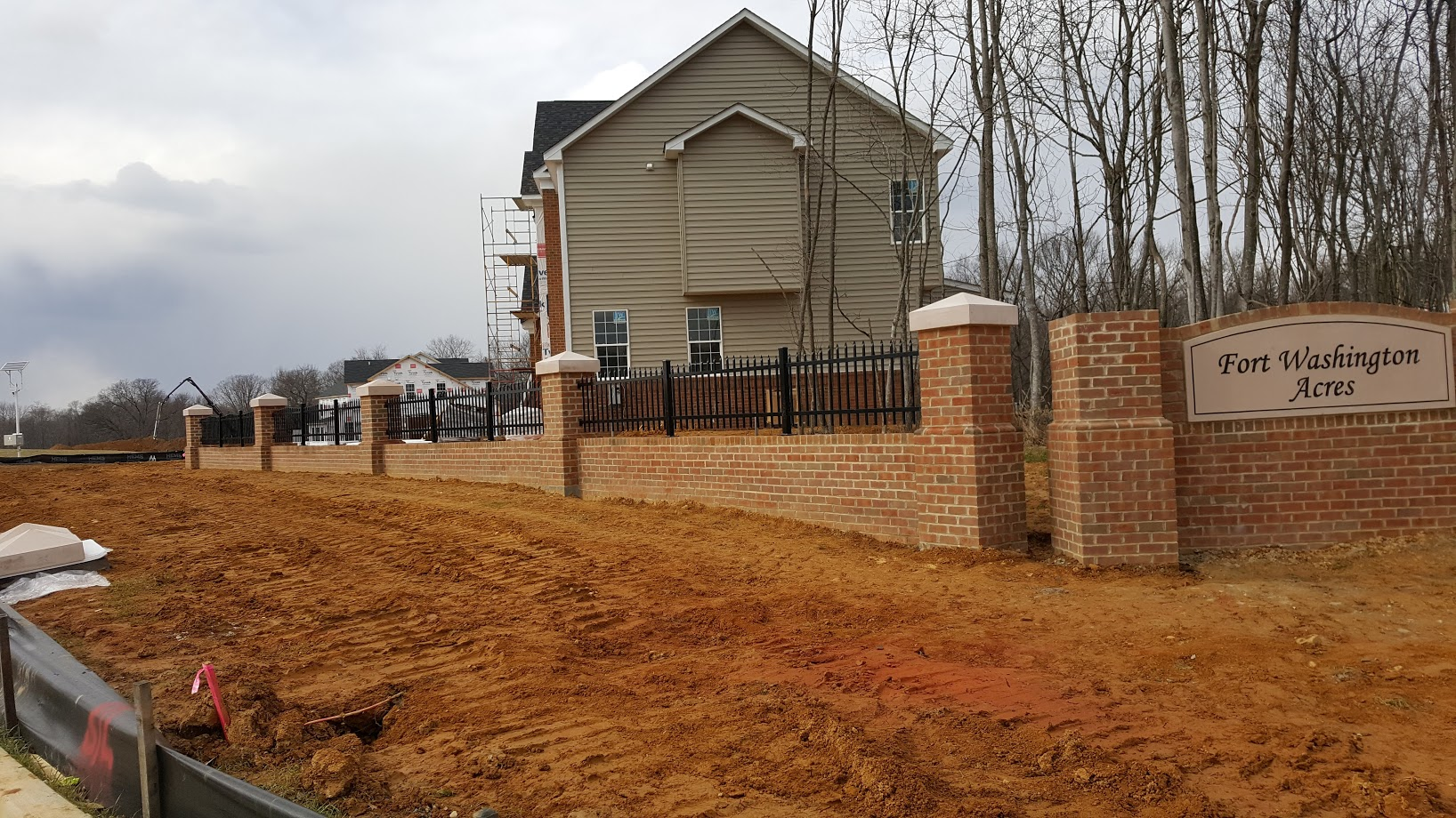 Retaining Wall Fencing
