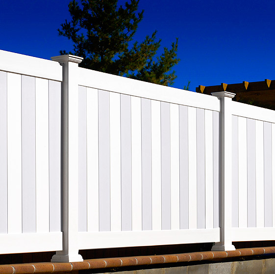 Illusions Privacy Vinyl Fence