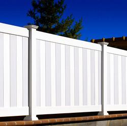 Illusions Privacy Vinyl Fence
