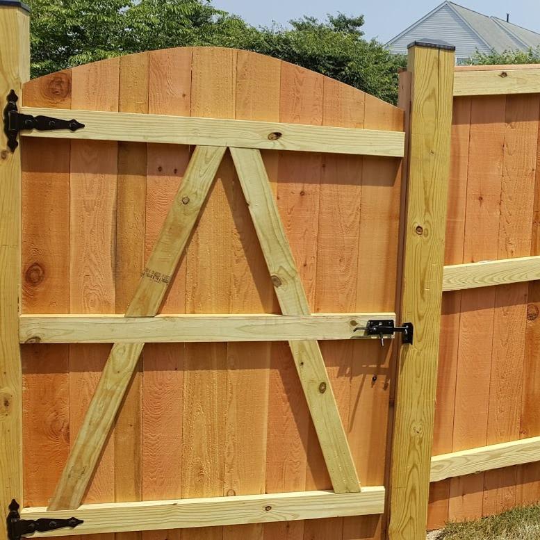Cedar Privacy Board on Board Gate