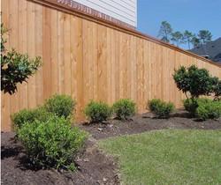 Wood Fence by Crown Enterprises, Inc