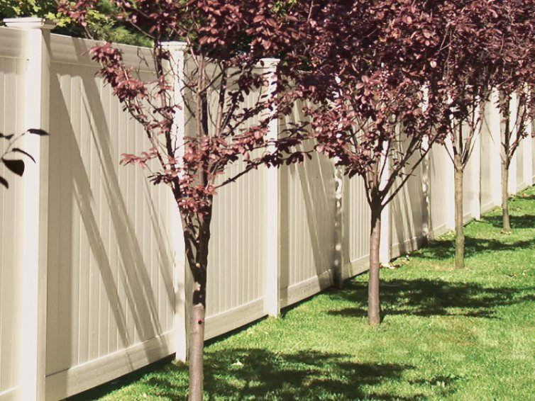 Crown Fence Vinyl Privacy Fence