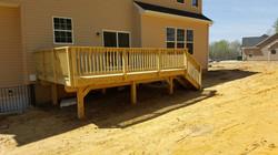 Wood Deck Pressure Treated White Plains4