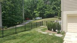 Black Ornamental Fence