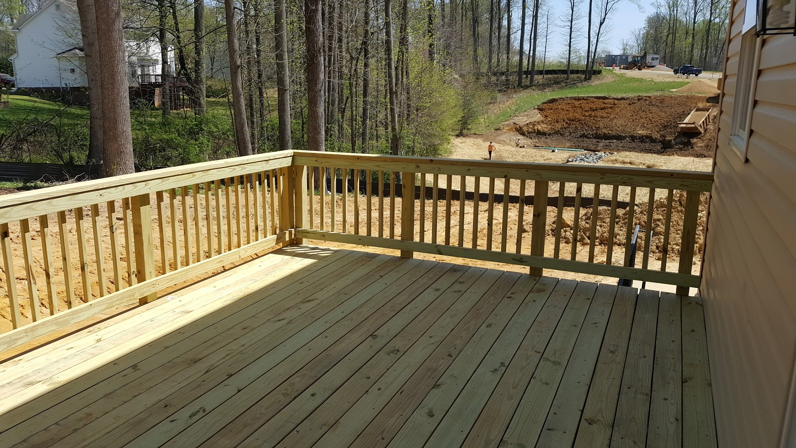 Pressure Treated Wood Deck