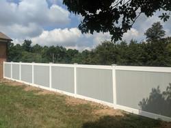Gray White Vinyl Fence Upper Marlboro2