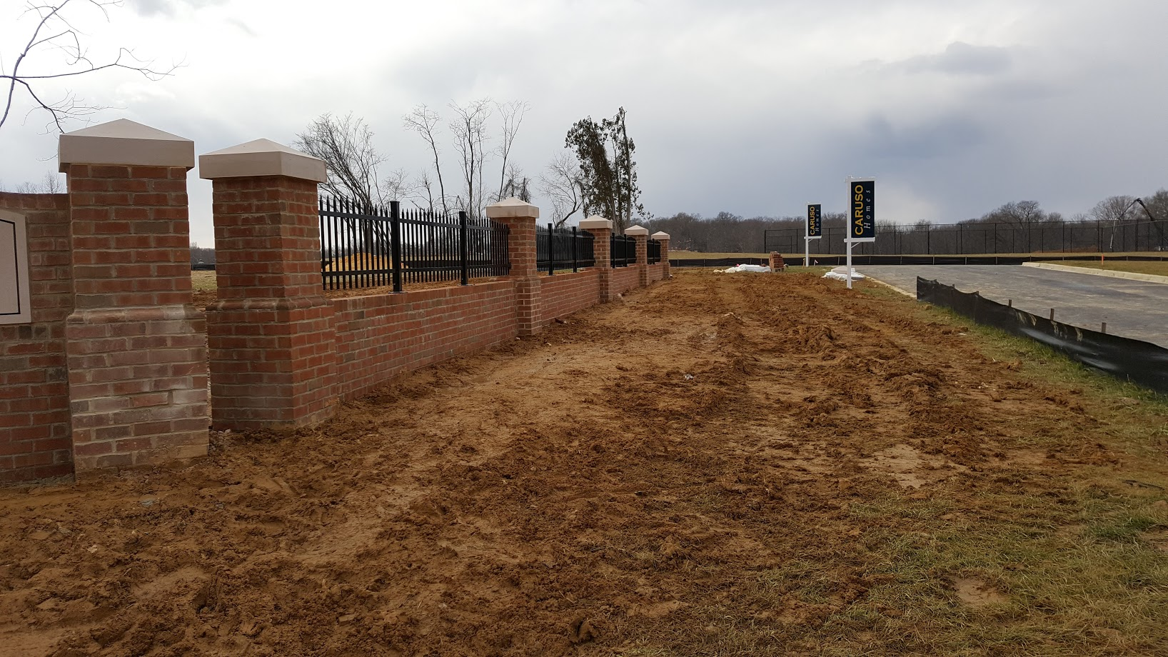 Retaining Wall Ornamental Rails