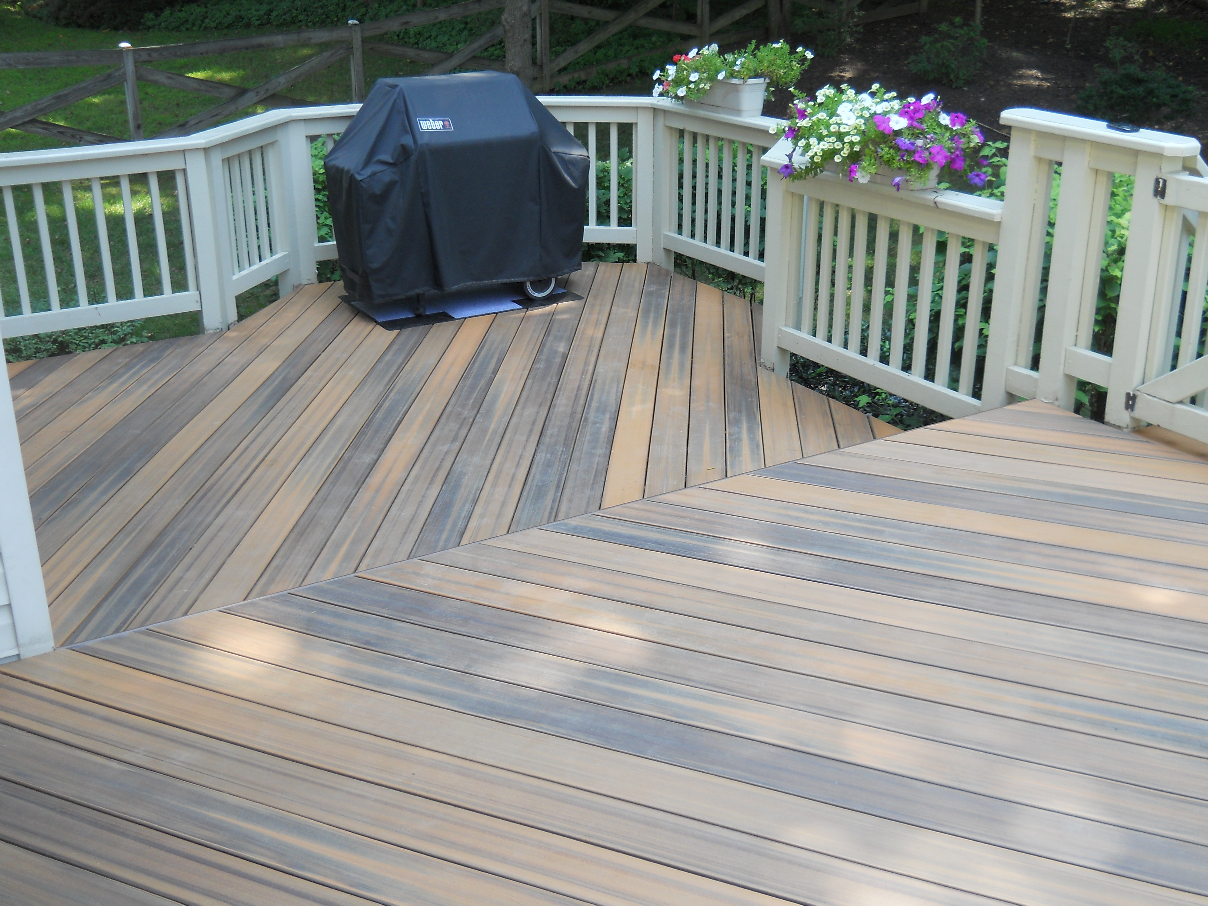 Composite Flooring on Deck