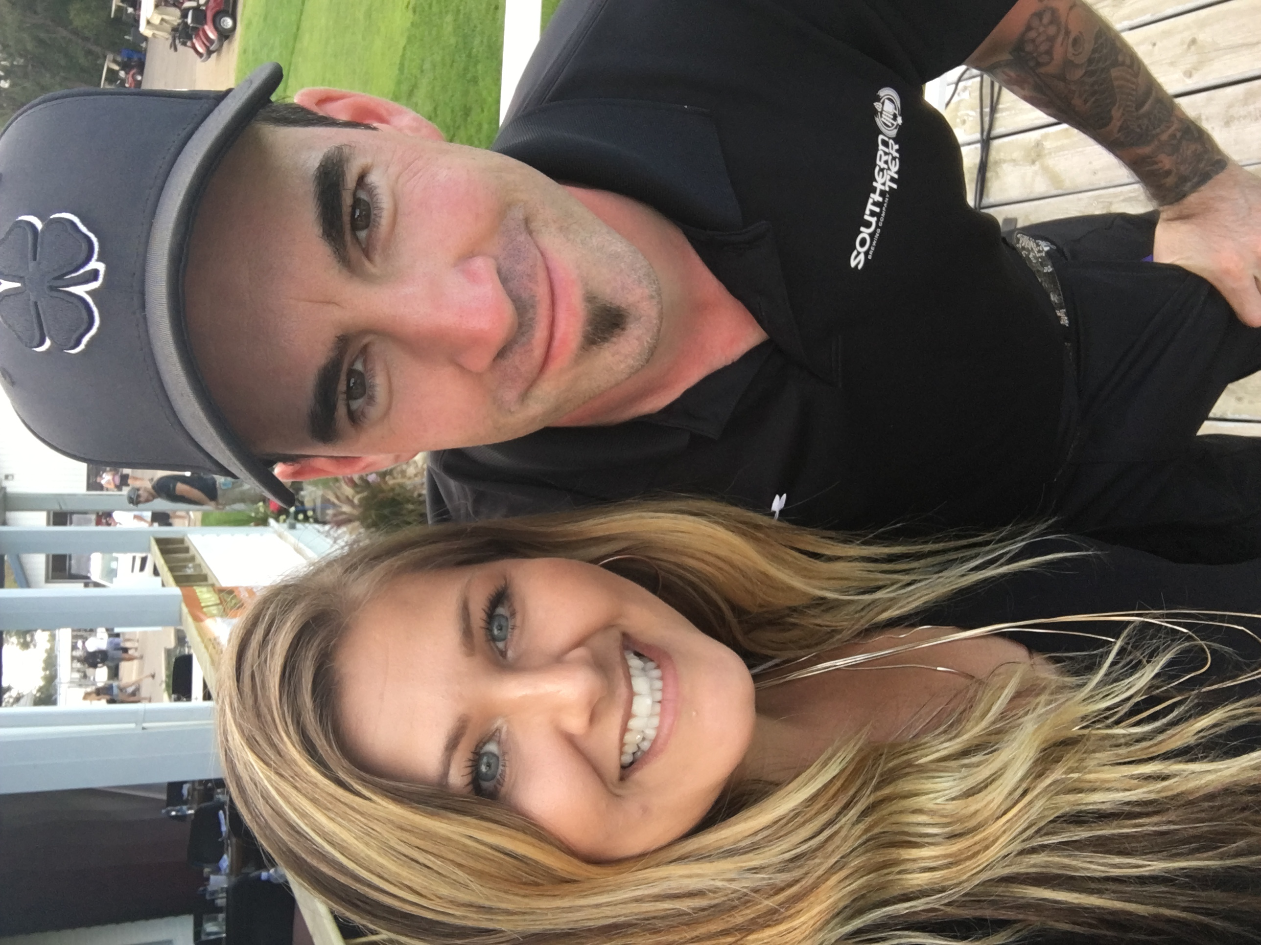 Tyler Connolly & I, Gord Bamfords Golf Tournament