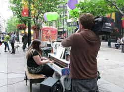 Launching Calgary's 1st Street Piano