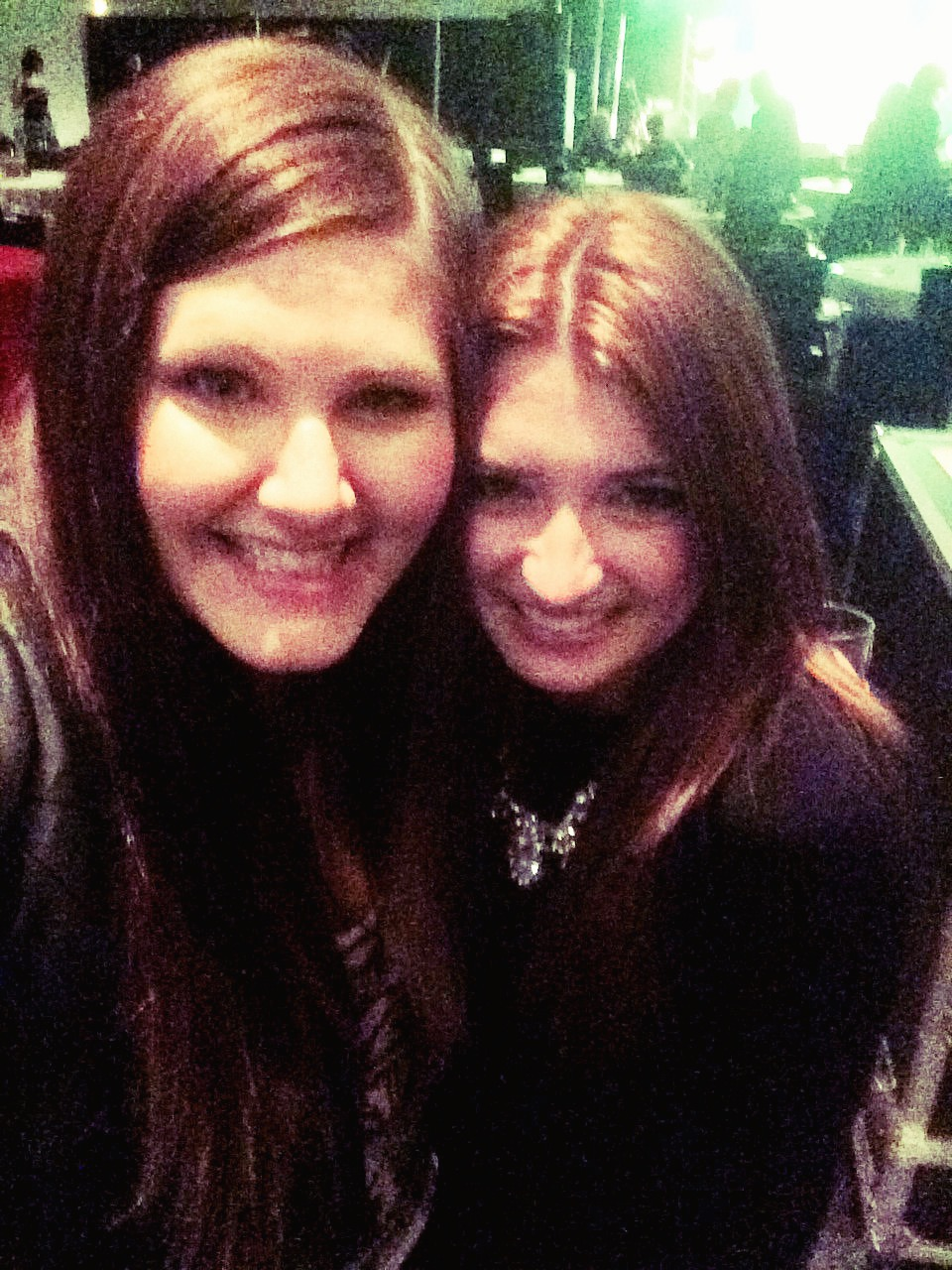 Tenille & I at the ACMA's