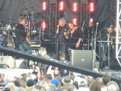 Tom Cochrane & I - Photo Credit - Kevin Burns
