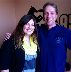 Tim Day and I after a radio interview at KG Country 95.5 FM.PNG