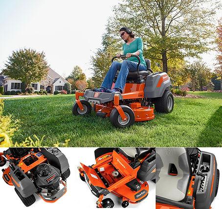 Husqvarna zero turn lawn mower