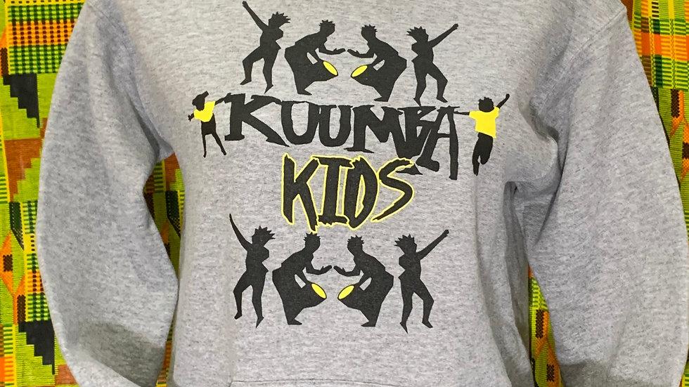 Kuumba Kids Gray Hoodie
