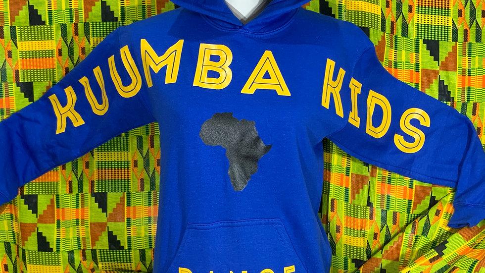 Kuumba Kids Royal Blue Spirit Hoodie