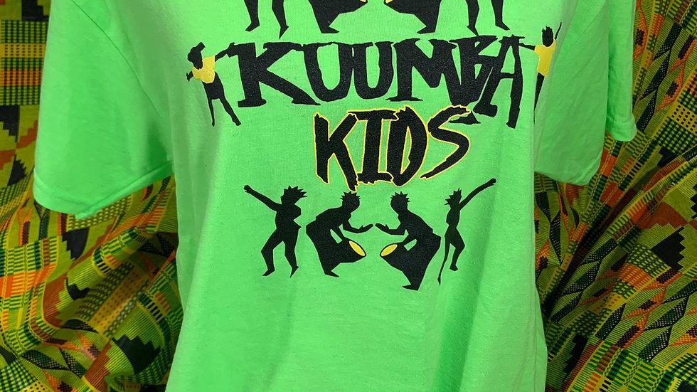 Kuumba Kids Neon Green T-Shirt