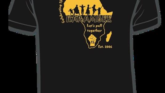 Harambee 15 Year Anniversary Tshirt