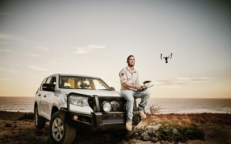 Dirk flying drone