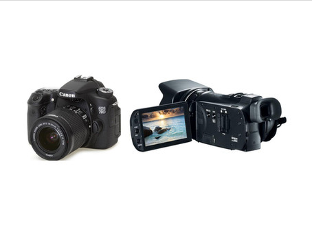 DSLR Video vs. Dedicated Video Cameras