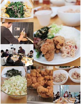 """2017年新春のランチ会は""""特盛り""""鶏のから揚げ!"""