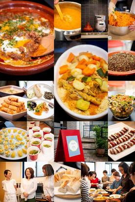 「エンリケマルエコス」小川歩美さんによるモロッコ料理ランチ