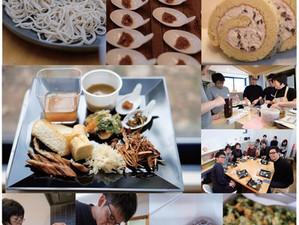 今年最後のランチ会は手打ち蕎麦ランチ☆