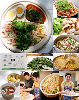野菜たっぷり、ベトナムの家庭料理でランチ会!