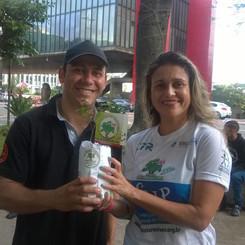Aniversário de São Paulo 2018 - Ação Reflorestar é Viver